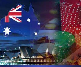 australia/n + online casino(s)