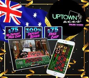 Uptown Aces Mobile Roulette No Deposit Codes australianodeposit.com