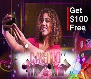 Get 100 free no deposit bonus